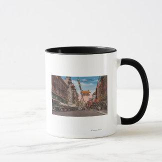 Mug San Francisco, CAView de rue principale de