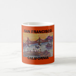 MUG SAN FRANCISCO, LA CALIFORNIE