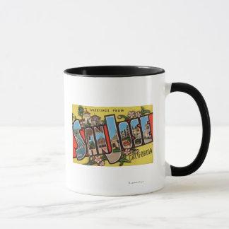 Mug San Jose, scènes de lettre de CaliforniaLarge