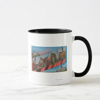 Mug Sandy, lettre ScenesSandy, UT d'UtahLarge