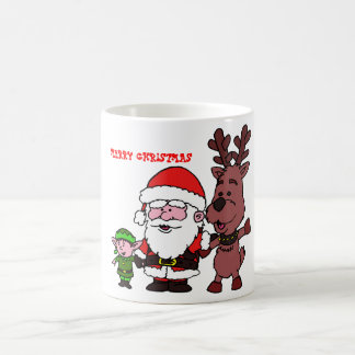 Mug Santa Claus and Reindeer