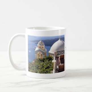 Mug Santorini, Grèce