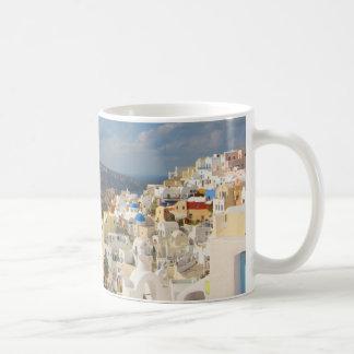 Mug Santorini pendant l'après-midi Sun