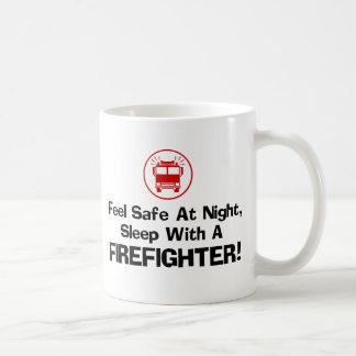 Mug Sapeur-pompier drôle