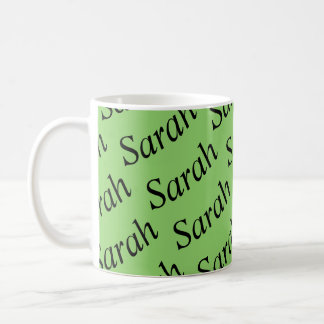 Mug Sarah du noir d'orphelin d'exposition