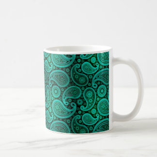 Mug Sarcelle d'hiver de luxe de Paisley  
