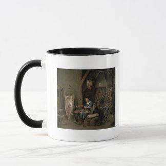 Mug Saucisse-making, 1651