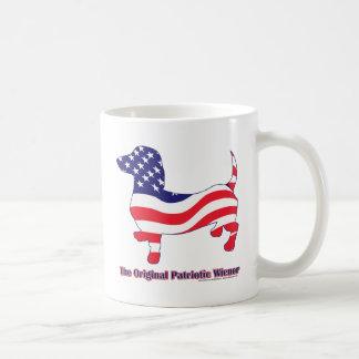 Mug Saucisse/teckel patriotiques originaux