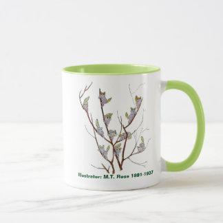 Mug Saule de chat de collection d'enfants de fleur