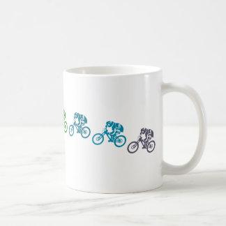 Mug Saut incliné de vélo de montagne
