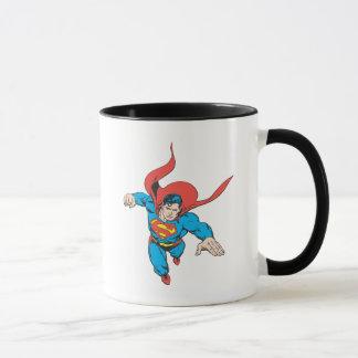 Mug Sauts de Superman en avant