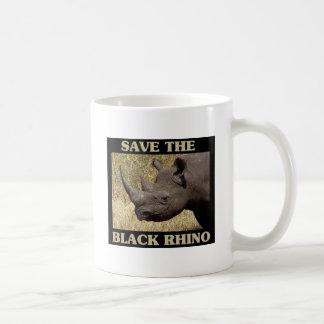 Mug Sauvez le rhinocéros noir