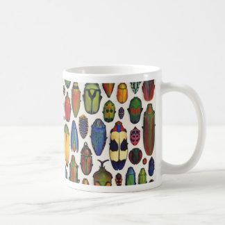 Mug Scarabées illustrés par cru coloré