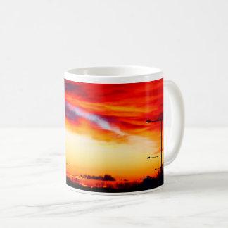 Mug Scène 01 de rue de coucher du soleil