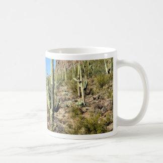 Mug Scène 03 de désert de Sonoran