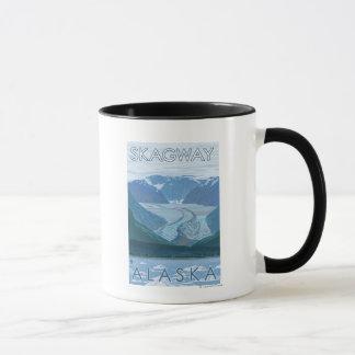 Mug Scène de glacier - Skagway, Alaska