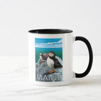 Mug Scène de MainePuffins