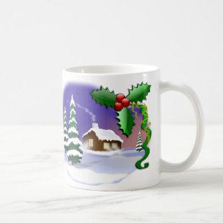 Mug Scène de Noël d'hiver