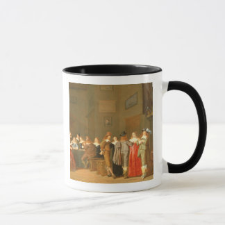 Mug Scène de poursuite, 1644 (huile sur la toile)