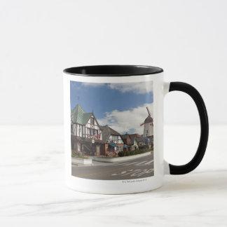Mug Scène de rue de Solvang historique, 'le danois
