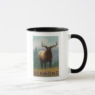 Mug Scène de VermontElk