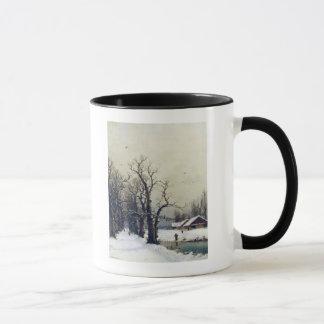 Mug Scène d'hiver, 19ème siècle