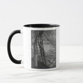 Mug Scène 'du givre du Mariner antique