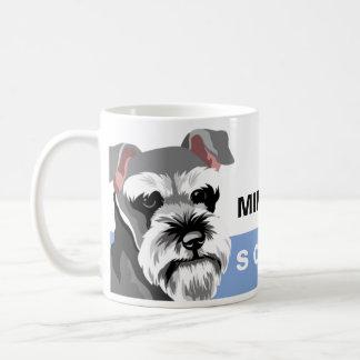 Mug Schnauzer miniature d'amoureux des chiens