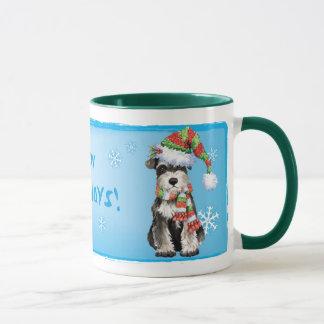 Mug Schnauzer miniature heureux de Howlidays