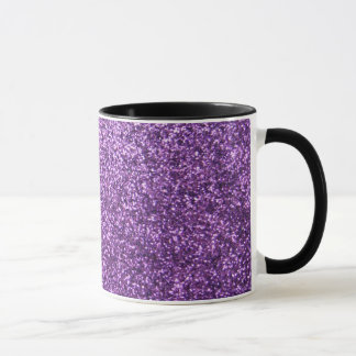 Mug Scintillement pourpre de Faux
