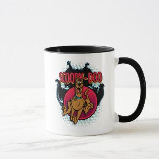 Mug Scooby-Doo fonctionnant des fantômes graphiques