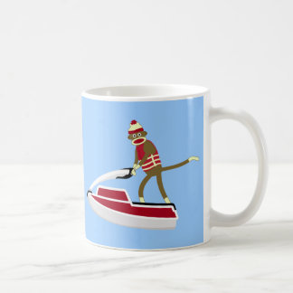 Mug Scooter de mer de singe de chaussette