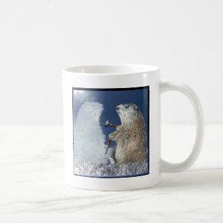 Mug Sculpture en glace de jour de Groundhog