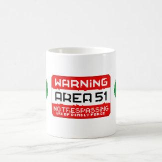 Mug Secteur 51 Warning
