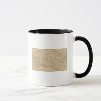 Mug Secteur d'Orangeburgh, la Caroline du Sud