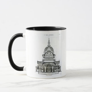 Mug Section transversale de la cathédrale de St Paul