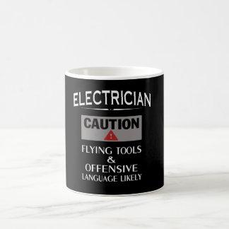 Mug Sécurité d'ÉLECTRICIEN