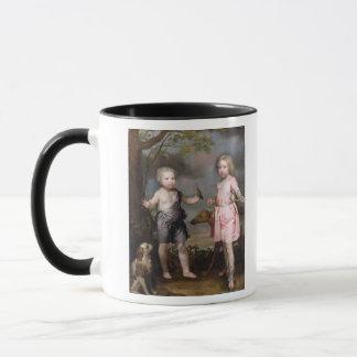 Mug Seigneur John Hay et Charles, maître de Yester