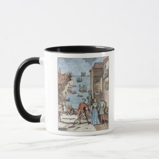 Mug Séparation de Columbus avec Ferdinand et
