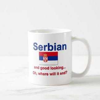 Mug Serbe beau