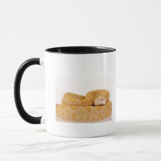 Mug Serpent à sonnettes de dos en forme de losange