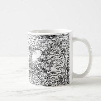 Mug Serpent de mer/monstre à cornes