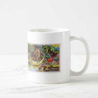 Mug Serpent de tigre néerlandais vintage de Tigre de