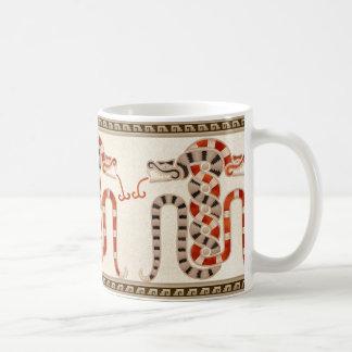 Mug Serpents enlacés maya