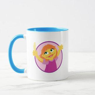 Mug Sesame Street | Julia tenant la plume