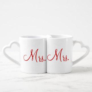 Mug Set de Mme et de Mme Lovers'