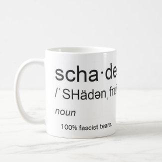 Mug Shadenfreude, nom : larmes fascistes de 100%