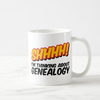 Mug Shhhh ! Penser à la généalogie