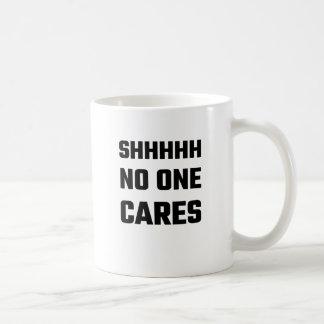Mug SHHHHH personne s'inquiète