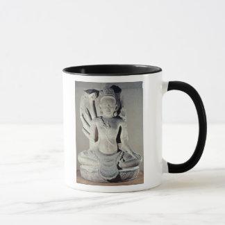 Mug Shiva avec dix bras, de Thap Banh il temple,